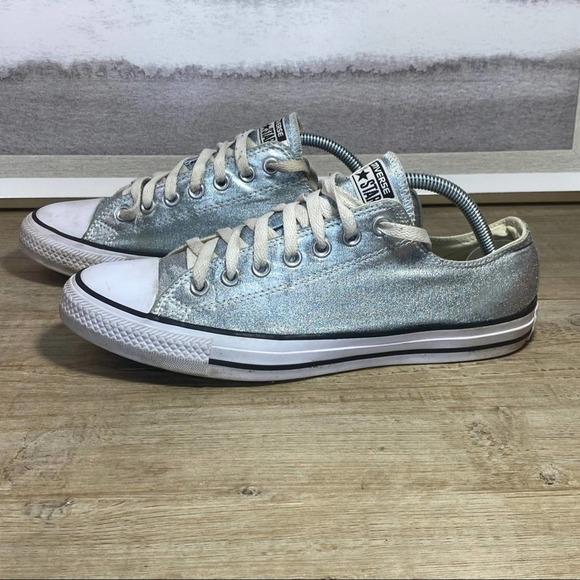 Converse All Star Silver Sneaker / Men's 9